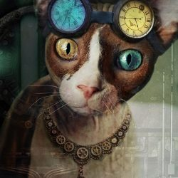 Steampunk Cats